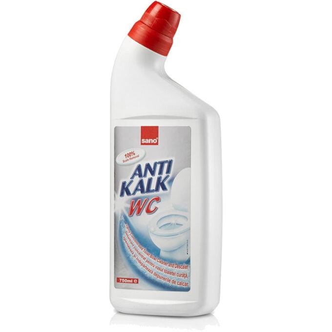 Detartrant pentru vasul de toalata AntiKalk 750 ml - Sano