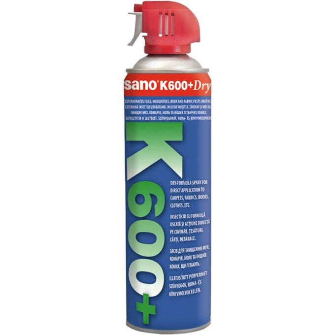 Spray impotriva insectelor zburatoare SANO K600, 500 ml
