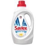 Detergent lichid pentru rufe, 40 spalari, 2.2 L, 2in1 White - Savex